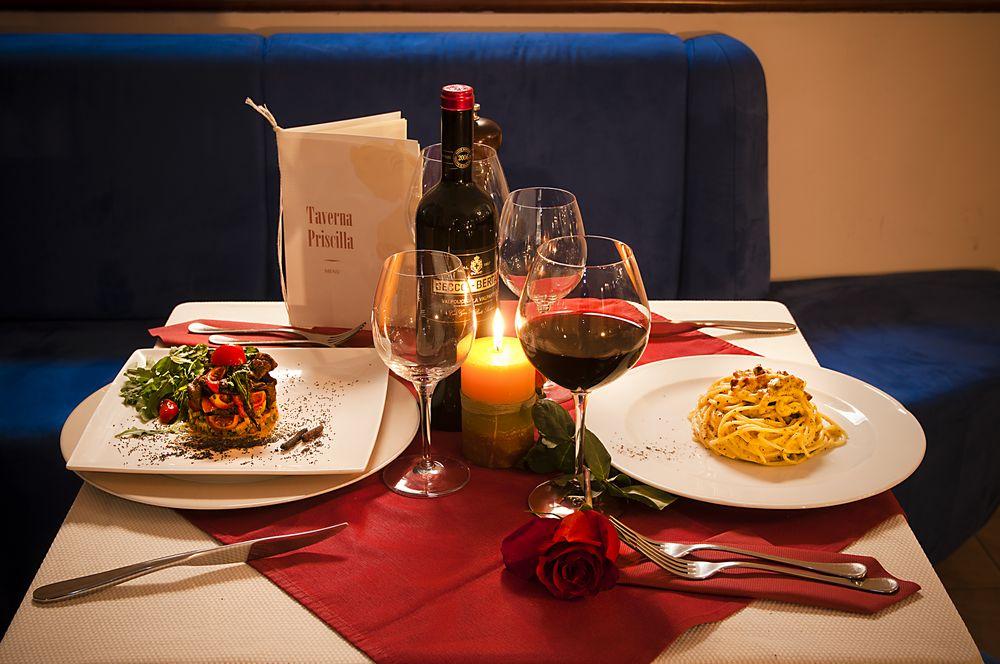 Restaurant Priscilla 3 Etoiles Centre de Rome
