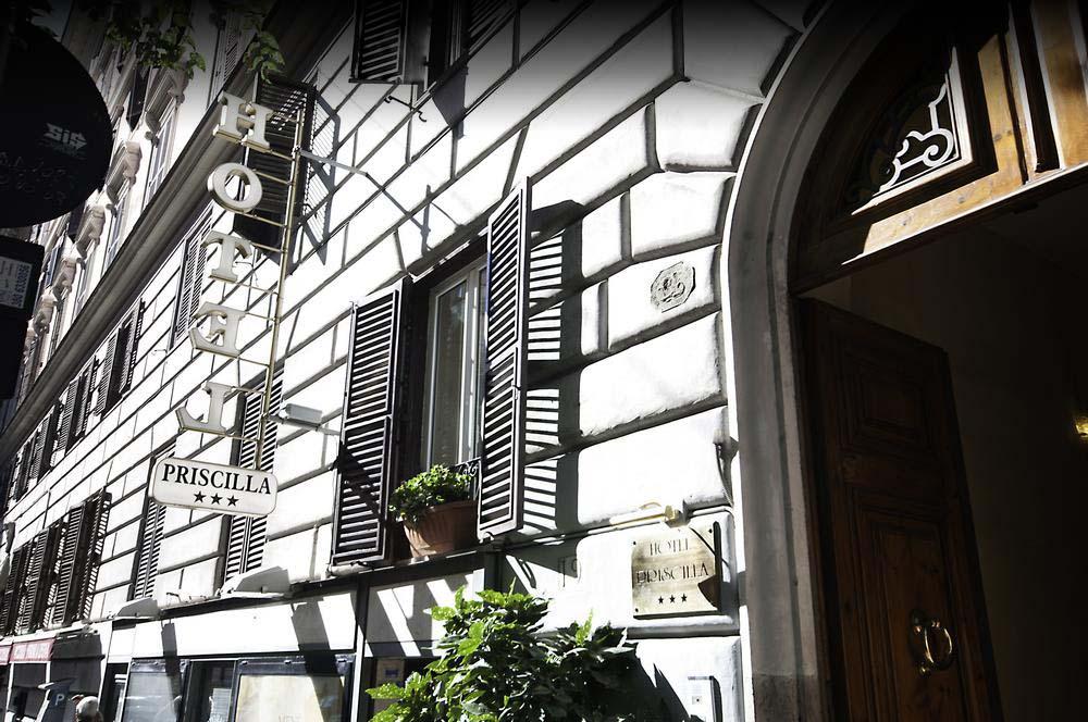 Hotel Priscilla Tre Stelle in Centro a Roma